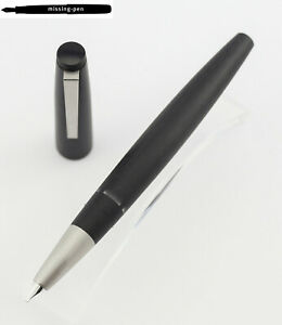 LAMY 2000 Piston Fountain Pen in Matte Black Makrolon® model 01 with 14 K nib