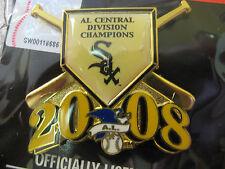2008 AL Central Division Champs Pin - White Sox