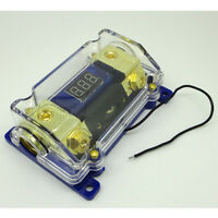 Digital Platinum Anl Dist Block 0-4 Gauge Fuse Holder FH061G Free Anl Fuse 500A