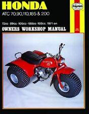 HAYNES SERVICE MANUAL HONDA ATC90 1971-1978 ATC110 1979 ATC185 1980 ATC200 1981
