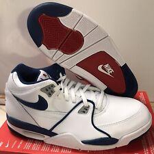 Nike Air Flight 89 All Star Shoes CN5668 101 White Blue Red Sz 10