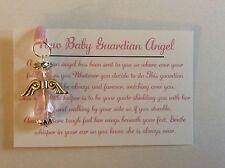 Baby girl guardian angel Keepsake baby christening gift baptism handmade