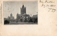 CHRIST CHURCH DUBLIN IRELAND GRETA SERIES 148 by HELYS QUEEN VICTORIA STAMP 1901