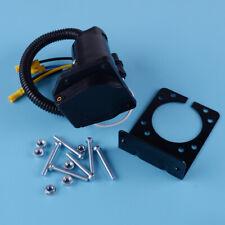 4-Way Flat to 7 Way Round RV Blade Adapter Trailer Hitch Plug