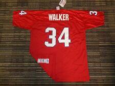 NWT AUTHENTIC HERSCHEL WALKER #34 NEW JERSEY GENERALS MAJESTIC USFL GAME JERSEY