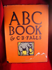 ABC BOOK by C. B. Falls 1923 FINE first in VERY RARE original dust jacket.