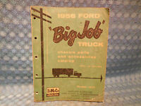1956 Ford Truck Series 700-900 Original Chassis Parts & Accessories Catalog