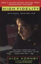 High Fidelity, Hornby, Nick, New Book
