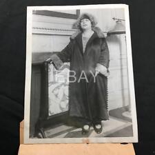 1923 Miss Olga Lynn Swedish Opera Singer Candid Original Press Photo A165