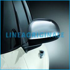 Calotte Specchi ORIGINALI Fiat 500L cromate lucide coppia kit auto car 50926890