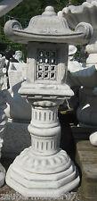Asiatische Laterne chinesische Pagode 96 cm japanischer Garten Steinlaterne neu