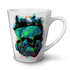 Grenade était gaz Skull New White Tea Coffee Latte Mug 12 17 oz   wellcoda
