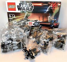 LEGO Star Wars Sith Fury-class Interceptor (9500) - 100% & includes Malgus!