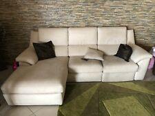 Divano Poltrone sofà 3posti Chaise-longue elettrico