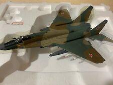 Franklin Mint Armour Mig 29C Fulcrum Soviet Air Force V-VS #B11B606 Displayed