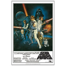 Star Wars (1977) Episode IV 4 A New Hope Classic Group Cast 24x36 Movie Poster