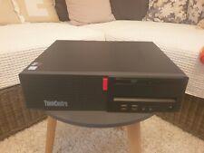 LENOVO ThinkCentre M710s i5-7400 7. Gen., 8GB RAM, 256GB SSD, DVD-Brenner top!