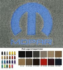 Lloyd Mats Dodge Challenger Custom Mopar Logo Velourtex Floor Mats (2008 & Up)