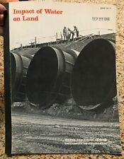 Impact of Water on Land - 1966 - Water Resources Center, University of Californi