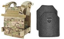 Body Armor | Bullet Proof Vest | AR500 Steel Plates | Base Frag Coating- CDR MC
