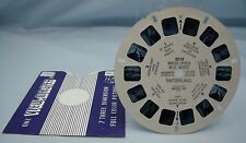 WINTER SPORTS IN ST.MORITZ SWITZERLAND #2018 VINTAGE SAWYER'S VIEW-MASTER REEL*