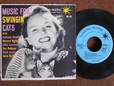 Music for Swingin Cats/Elliott Lawrence-Don Redman-Hawkins/45 EP/Sesac AD-34/M-