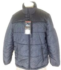NEW ZeroXposur Quilted Puffer Jacket - Mens size XXL Black and Gray J82650