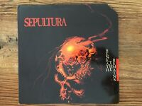 SEPULTURA - Beneath The Remains LP 1989  Vinyl in Mint-Condition, Cover Promo-Cu