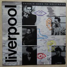 VINYLE 33 TOURS FRANKIE GOES TO HOLLYWOOD LIVERPOOL 207896 GERMANY LP 1986 INSER