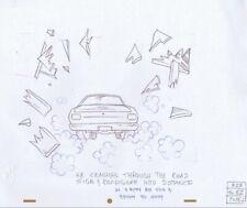 BEAVIS BUTTHEAD Production Cel Original Cell Drawing MTV Animation 90s Car