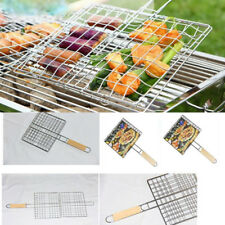 Bbq Barbecue Grill Stainless Steel Replacement Mesh Wire Net Outdoor Cook Picnic
