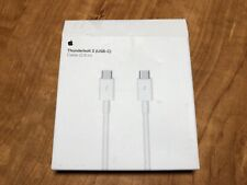 Apple Thunderbolt 3 USB-C Cable 0.8 m (MQ4H2AM/A) 100% APPLE ORIGINAL