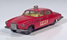 "Vintage Husky Jaguar MK 10 Fire Chief 2.75"" Scale Model 1961 1962 1963 1964 1965"
