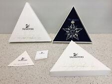 2001 Swarovski Christmas BRAND NEW IN BOX Holiday Ornament Xmas COA swavorski