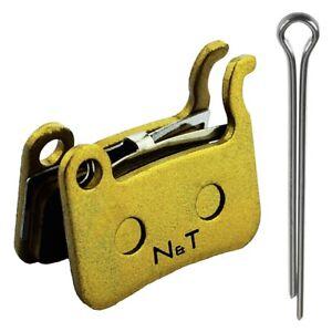 NT-BP005 Pastillas Frenos Compatible Con Shimano Deore LX Br T605 M585 Hone M601