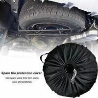 Spare Tyre Cover Wheel Cover Tyre Bag Space Saver Fit For Car Van Caravan Truck