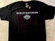 Harley Davidson Bar and Shield black Shirt Nwt Men's XXL