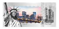 2017 Cook Islands $1 New York Skyline Foil Note 5 g Proof Silver SKU46732