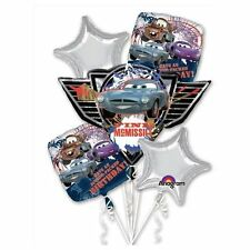 Disney Cars 2 Movie Action Birthday Party Balloons Deluxe Package