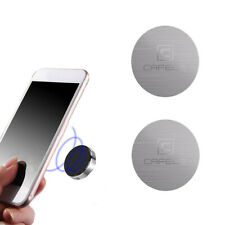 2x Metal Plate Stickers Replacement  For Magnetic Car Mount Magnet Phone Holder