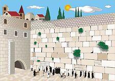Puzzle 250 Pcs 48x34cm The Western Wall Jerusalem Israel Gift