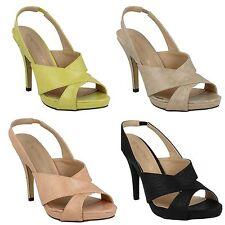 Zapatos de tacón de mujer Anne Michelle de piel sintética