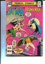 FEDERAL COMICS: STARRING BATMAN AND HAWKMAN #5 AUSTRALIAN PRINT GIANT 80 PAGE