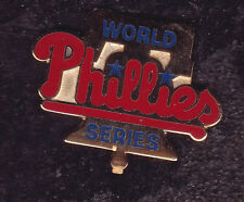 Vintage Original 1993 World Series Philadelphia Phillies Phils Press Pin 4th