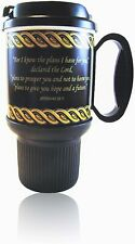 Jeremiah 29:11 Thermo Insulated Travel Mug 20oz  Inspirational Bible Verse Cup