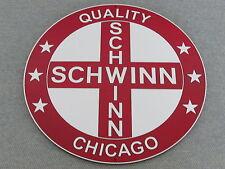 "Schwinn Bicycle Wood Sign 12"" Wall Art Decor"
