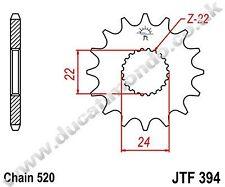 APRILIA RS 125 Replica 93-03 17 Diente Delantero Piñón Nuevo JTF394.17 acero jt