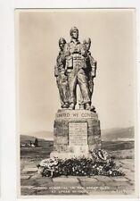 Commando Memorial Great Glen Spean Bridge RP Postcard 214a