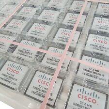 50 x 512MB CISCO CompactFlash CF scheda di memoria AUTENTICO W/ Custodie per