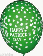 10 Ballons Vert Happy SAINT PATRICK Day Décoration de Salle